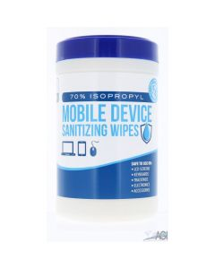 Mobile Device Sanitizer Wipes 6x8 (85 count)