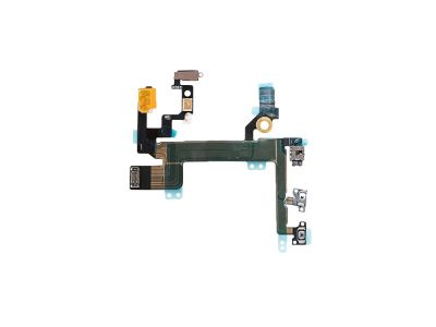 iPhone 5S Power, Mute and Volume Button Switch Connector Flex Cable